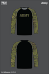 All Army Team Men's Long-Sleeve Performance Shirt - A2RS4X