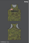 All Army Team Men's Track Singlet - Ckjmjq