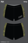 All Army Team Women's Track Shorts - n3chQV