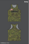 All Army Team Women's Track Singlet - NjF2pN