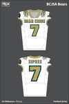 BCJSA Bears Football Jersey - Mjesgq