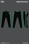 Ballard Memorial High School Bombers Softball Pants - 5XuhWu