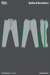 Ballard Memorial High School Bombers Softball Pants - Sa4gY8