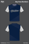 Bay Area Bombers Short-Sleeve Performance Shirt - d7HwXa