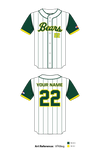 Bear Creek Bears Baseball Full Button Jersey - VFK8eg