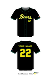 Bear Creek Bears Baseball Full Button Jersey - RahGaP