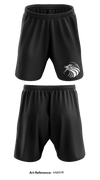 Beaufort High School AFJROTC Drill Team Athletic Shorts with pockets -4a8svR