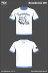 Benedictine OH Short Sleeve Rash Guard - E9snXa