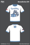 Benedictine OH Short Sleeve Rash Guard - WVyxKg