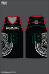 Blackazhell University Men's Basketball Jersey - BKUDeL