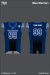 Blue Warriors Football Jersey - 6AUKjA