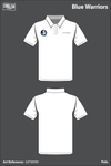 Blue Warriors Polo - 62FWMM