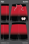 Red Deuces Football Practice Shorts - jQavqd