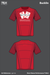 Red Deuces Short-Sleeve Performance Shirt