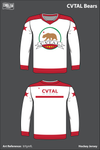 California Varsity Taekwondo Athletic League Hockey Jersey - bYgmfL