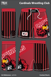 Cardinal's Wrestling Club Heavy Fight Shorts - asXnDx