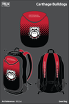 Carthage Bulldogs Gear Bag - 8B22aJ