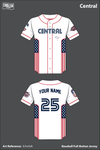 Central Baseball Two Button Jersey - k7nnhA