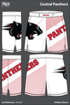 Central Panthers Football Athletic Shorts - XPaSeP