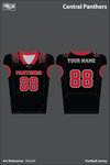 Central Panthers Football Jersey - 5RsDeR