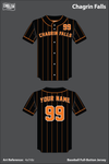 Chagrin Falls Full Button Baseball Jersey - 4a7r8z
