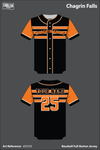 Chagrin Falls Full Button Baseball Jersey - d55LTd