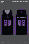 Charleston Rockets Men's Reversible Basketball Jersey - bv6ujQ & uQHtwB