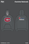 Charlotte Nationals Hoodie - LpW68A