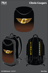 Cibola High School Cougars Gear Bag - PqkQdV