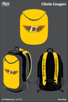 Cibola High School Cougars Gear Bag - fp5FMd