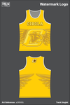 Cibola High School Cougars Track Singlet -  a5WN9G