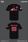 Code Red Full Button Softball Jersey - rj6zVg