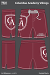 Columbus Academy Fight Shorts - wmqEVs