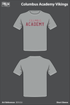 Columbus Academy Short Sleeve Rash Guard - B5Yc5U