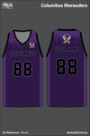 Columbus Marauders Basketball Jersey - tRNuKj