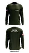 Deck Store 1 - Long-Sleeve Hybrid Performance Shirt - WdnUVG