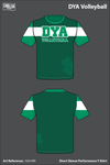 DYA Volleyball Short-Sleeve Performance Shirt - HZrnfM
