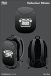 Dallas Iron Fitness Gear Bag - fbknn8