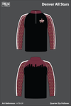 Denver All Stars Quarter Zip - Option 1