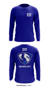 EIU Grounds Dept. Store 1 Long-Sleeve Performance Shirt - 4hctn3