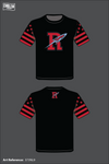 Ridgedale Rockets Short Sleeve Rash Guard - 373NL9