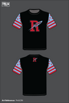 Ridgedale Rockets Short Sleeve Rash Guard - PmSCR9