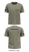 Echo Elite Store 1 Short Sleeve Hybrid Performance Shirt - F859j6