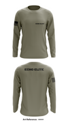 Echo Elite Store 1 - Long-Sleeve Hybrid Performance Shirt - G6eHkr