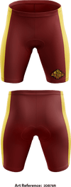 El dorado color guard Compression Shorts - 2DB78R