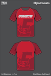 Elgin Comets Short Sleeve Rash Guard - mLvTwp