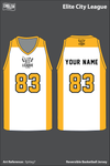 Elite City League Men's Basketball Jersey - EpVag7