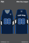 Elite City League Men's Basketball Jersey - hd3tsC