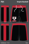 Empire Baseball Athletic Shorts - TTxGQ3