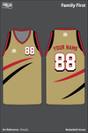 Family First Men's Basketball Jersey - RkeyQL